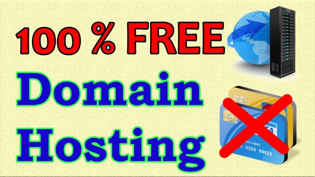 Free hosting and domain