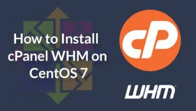 How-to-Install-cPanel-WHM-on-CentOS-7