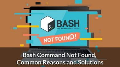 Bash Command Not Found, Common Reasons and Solutions